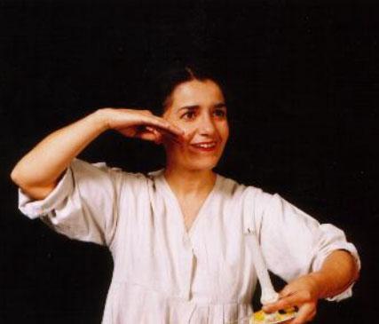 """Ombretta Zaglio in """"E la luna sorrise"""""""